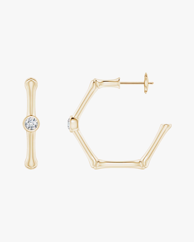 Natori Diamond Indochine Bamboo Hoops 0
