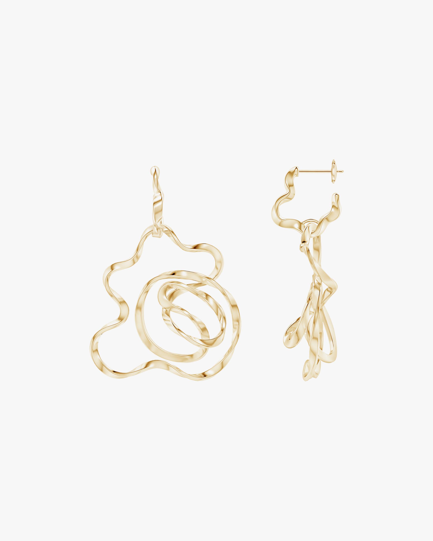 Natori Sakura Hoop Earrings 0
