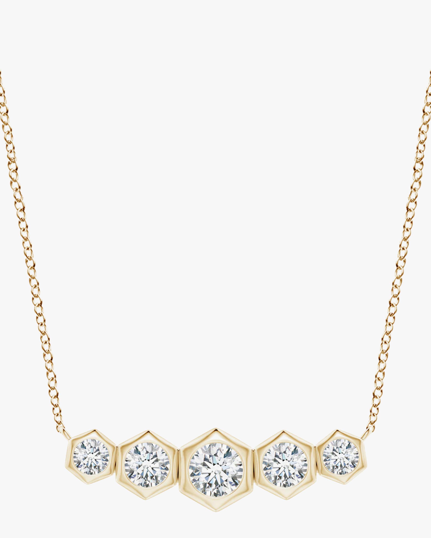 Natori Indochine Bamboo Diamond Journey Necklace 1