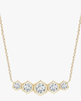 Natori Indochine Bamboo Diamond Journey Necklace 1