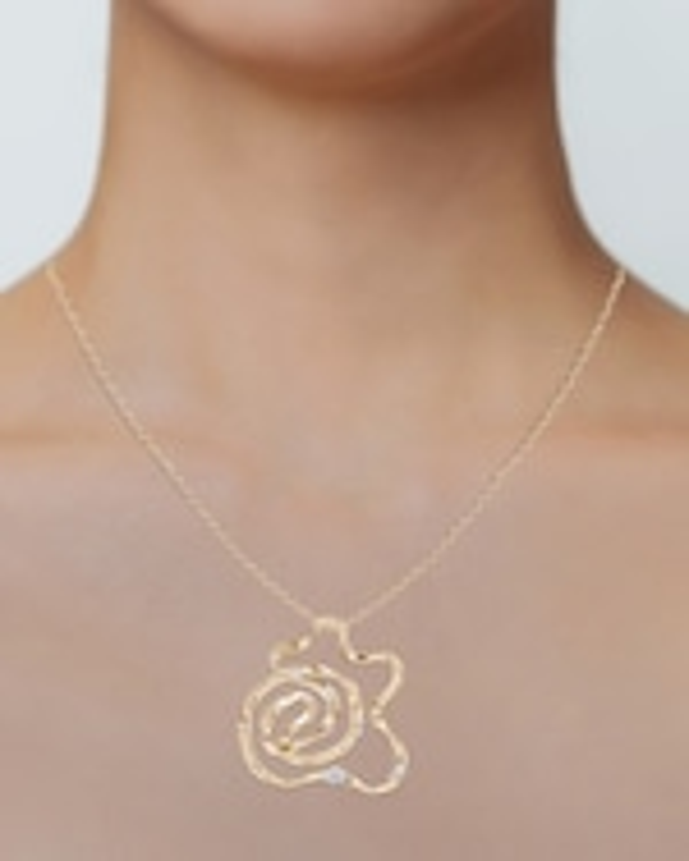 Natori Dispersed Diamond Sakura Necklace 1