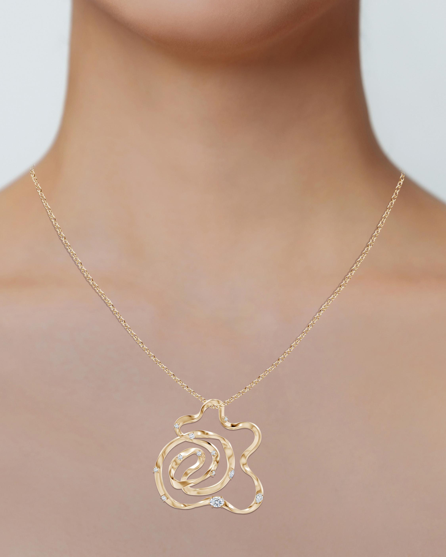Natori Dispersed Diamond Sakura Necklace 2