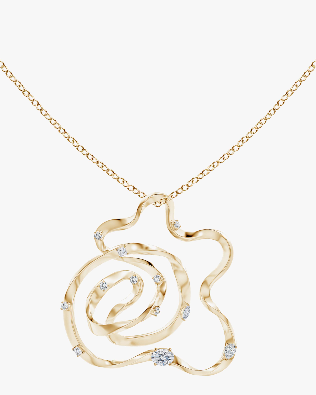 Natori Dispersed Diamond Sakura Necklace 3