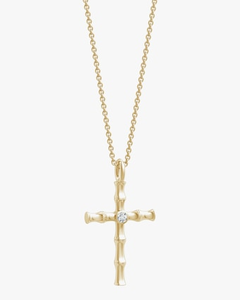 Natori Diamond Cross Pendant Necklace 1