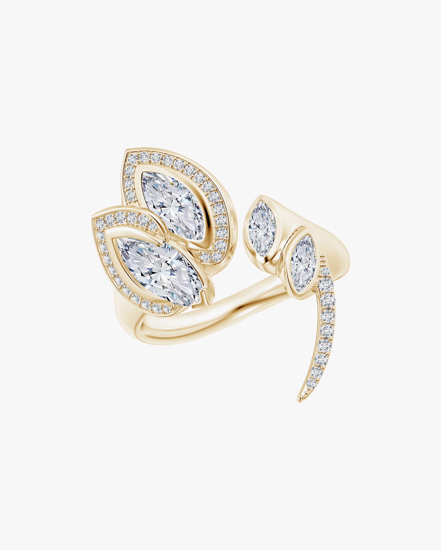 Natori Marquise Diamond Sumi Stroke Ring 0