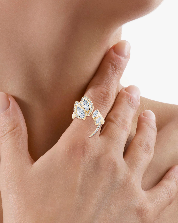 Natori Marquise Diamond Sumi Stroke Ring 1
