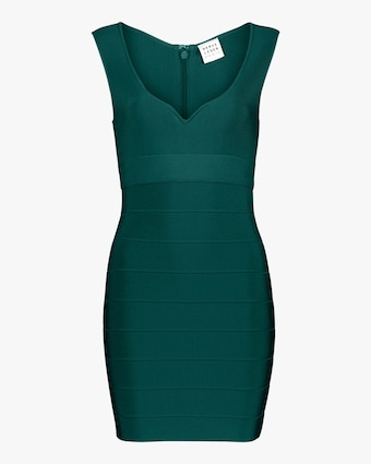 Herve Leger Sweetheart Icon Dress 1