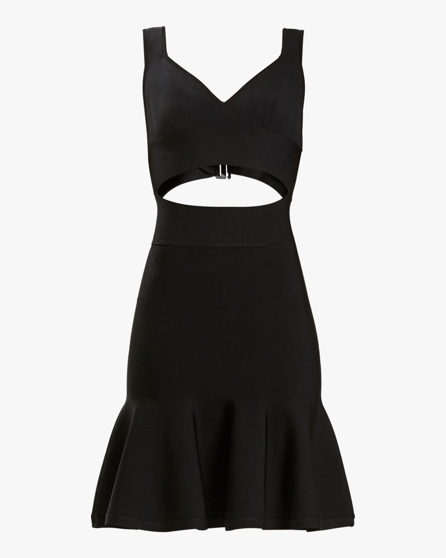 Herve Leger Sweetheart Bralette Dress 0