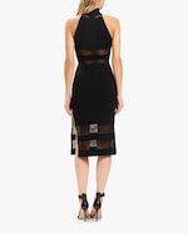 Herve Leger Halter Column Dress 4