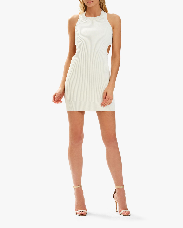 Herve Leger Rib-Cutout Mini Dress 1