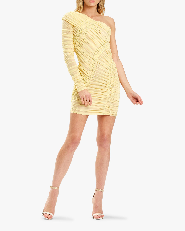Herve Leger Draped Mini Dress 2