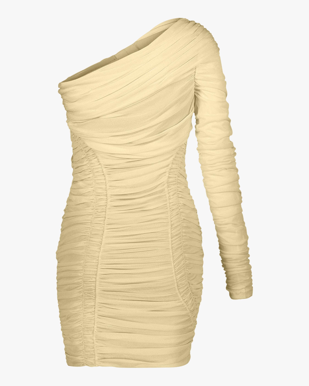 Herve Leger Draped Mini Dress 4