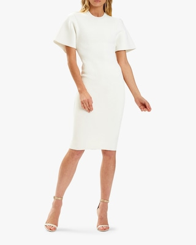 Herve Leger T-Shirt Contour Corset Dress 2