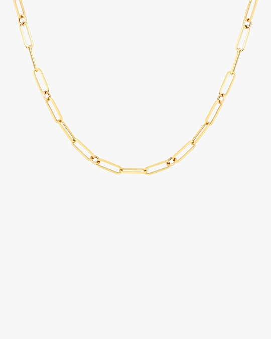 Roberto Coin Paperclip Chain Necklace 0