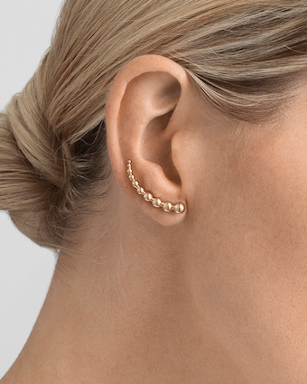Georg Jensen Jewelry Grape Ear Cuffs 2