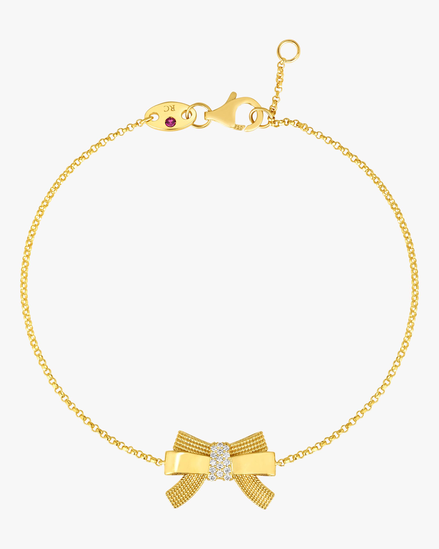 Roberto Coin Disney x Roberto Coin Cinderella Bow Bracelet 2