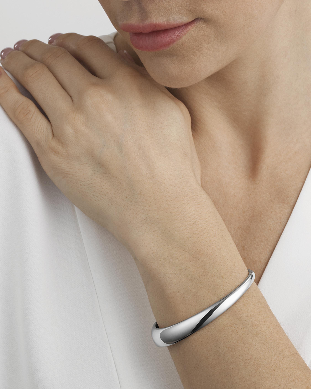 Georg Jensen Jewelry Curve Small Bangle 1