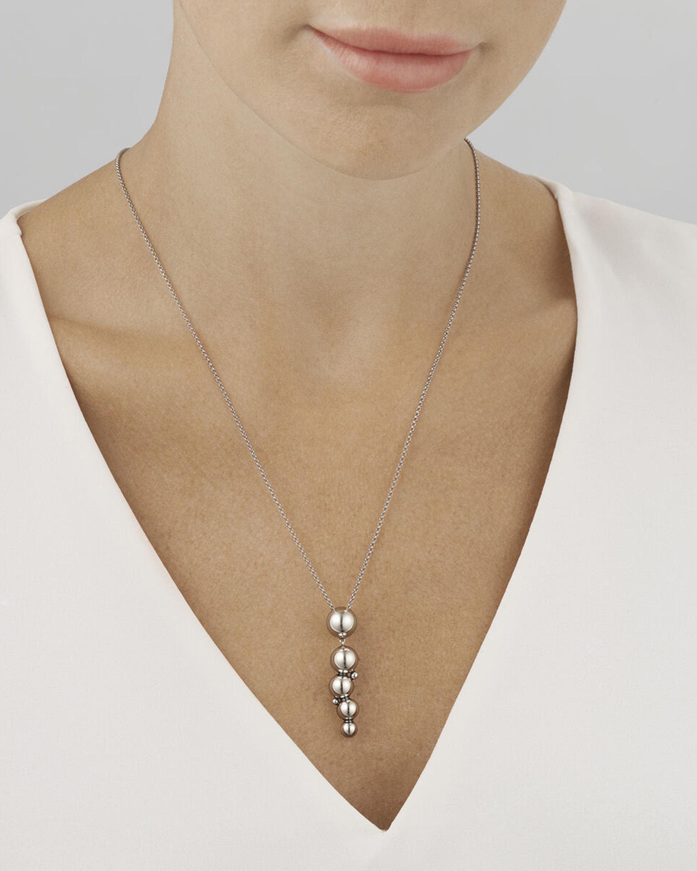 Georg Jensen Jewelry Grape Pendant Necklace 1