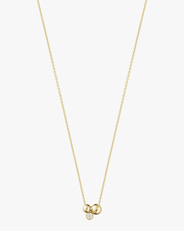 Georg Jensen Jewelry Grape Diamond Pendant Necklace 1