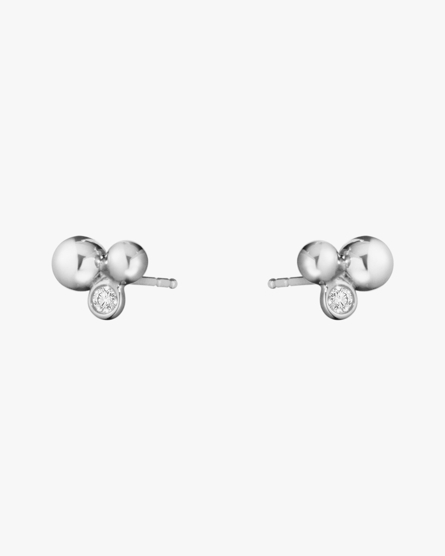Georg Jensen Jewelry Grape Stud Diamond Earrings 0