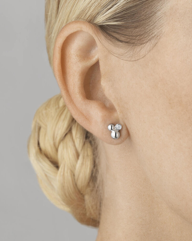 Georg Jensen Jewelry Grape Stud Diamond Earrings 2