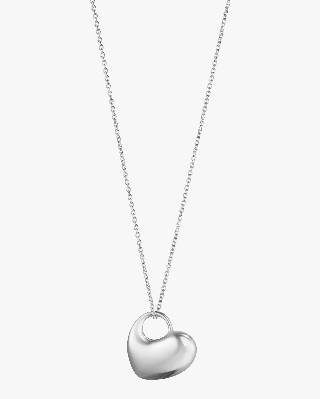 Georg Jensen Jewelry Heart Pendant Necklace 0