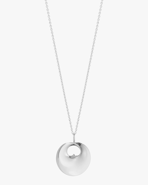 Georg Jensen Jewelry Small Hidden Heart Pendant Necklace 2
