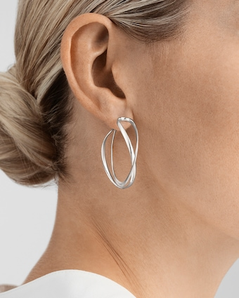 Georg Jensen Jewelry Infinity Earrings 2