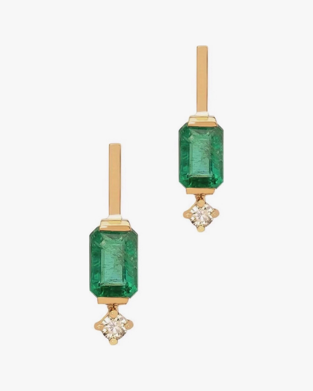 Yi Collection Emerald & Diamond Awakening Earrings 0
