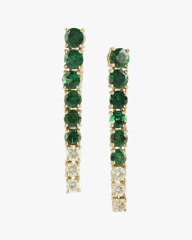 Yi Collection Tsavorite & Canary Diamond Dream Links Earrings 0