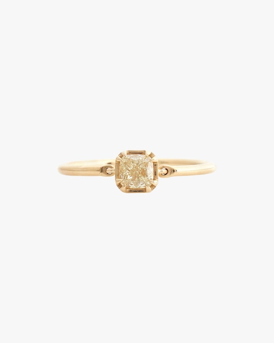 Yi Collection Canary Yellow Diamond Ring 0