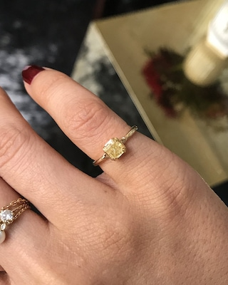 Yi Collection Canary Yellow Diamond Ring 2