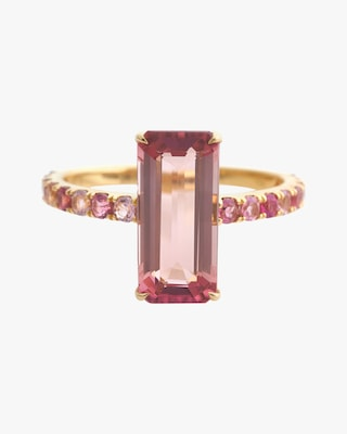 Yi Collection Pink Tourmaline Candy Ring 2