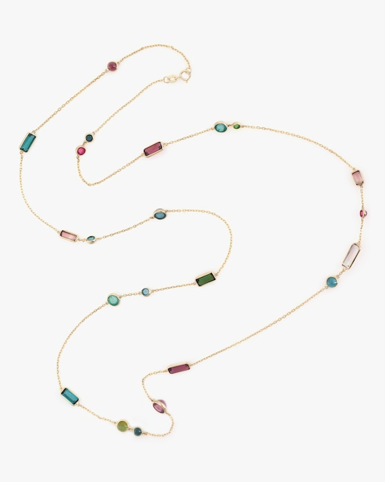 Yi Collection One-of-a-Kind Tourmaline Candy Necklace 0