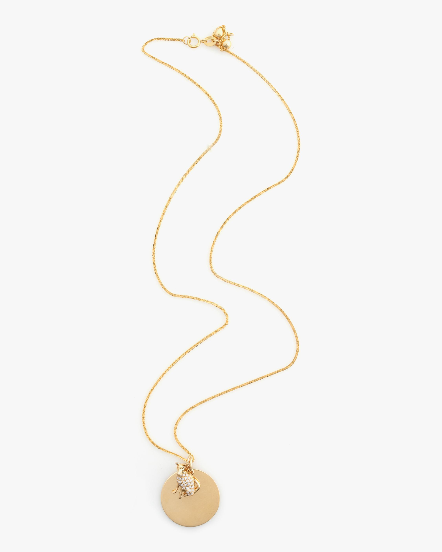 Yi Collection Chinese Zodiac Dog Pendant Necklace 1