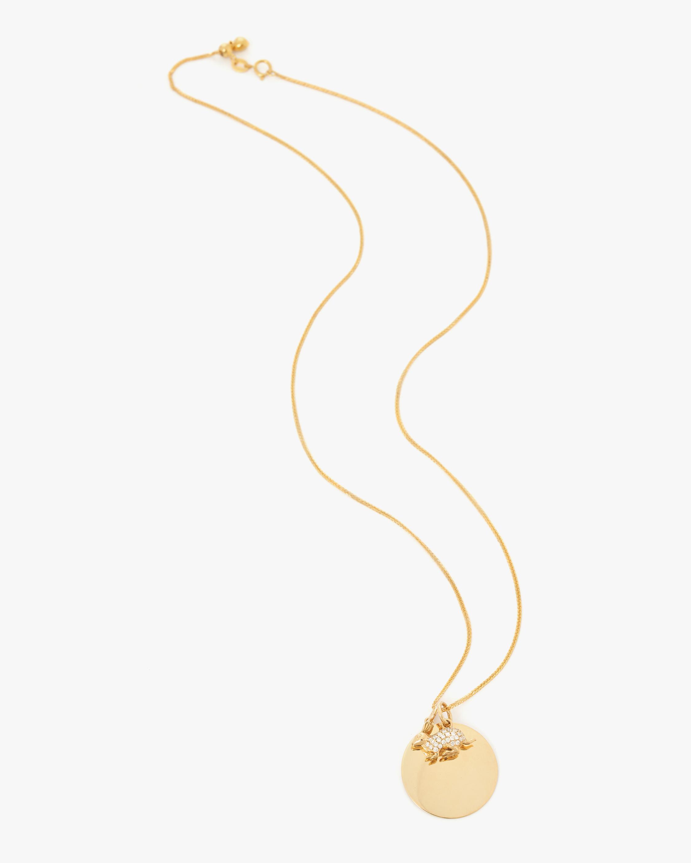 Yi Collection Chinese Zodiac Rabbit Pendant Necklace 0