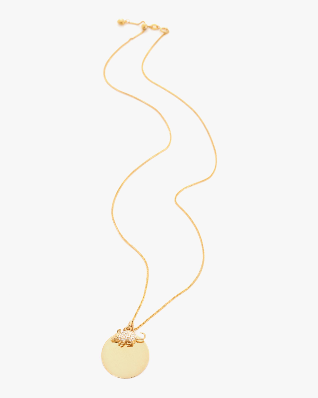 Yi Collection Chinese Zodiac Rat Pendant Necklace 1