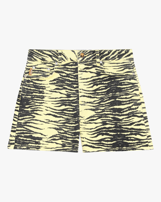 Ganni High-Waisted Shorts 0