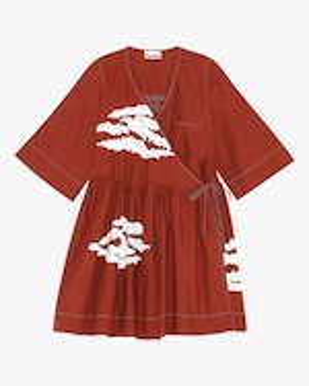 Ganni Wrap Dress 0