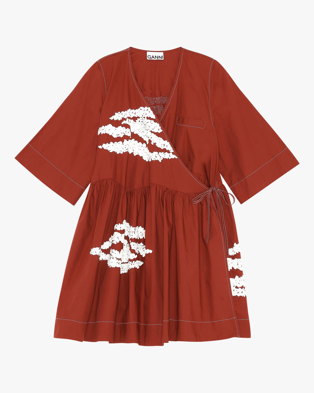 Ganni Wrap Dress 2