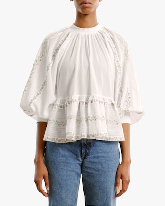 byTimo Embroidered Top 1