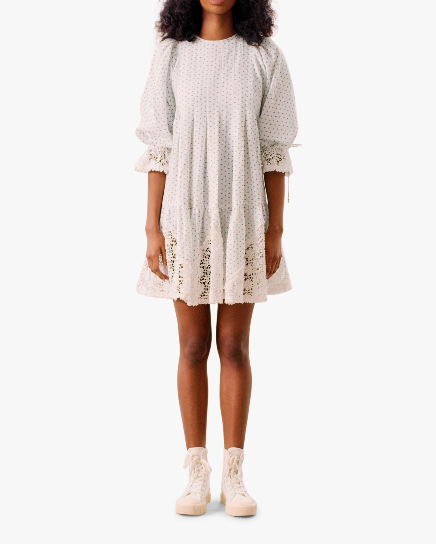 byTimo Puffed-Sleeve Mini Dress 0
