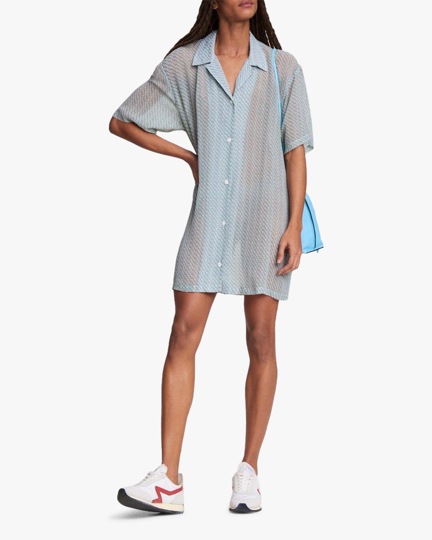 rag & bone Reed Printed Shirt Dress 1