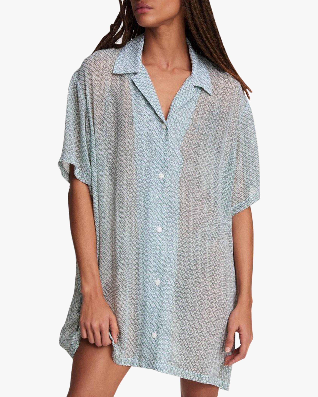 rag & bone Reed Printed Shirt Dress 4