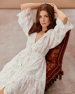 byTimo Ruffled Button-Down Dress 4