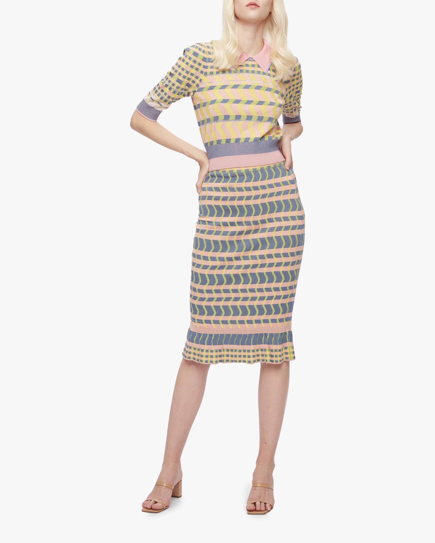 Diane von Furstenberg Rosa Skirt 0