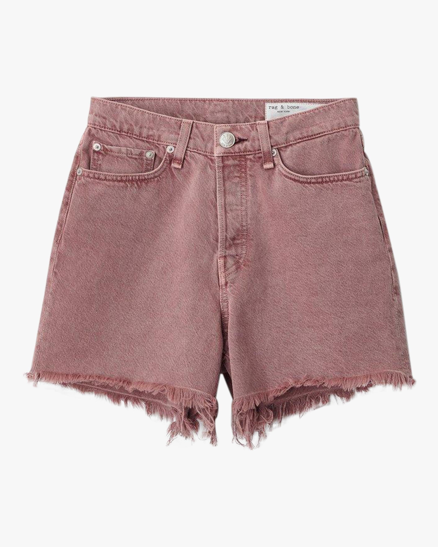 rag & bone Maya High-Rise Shorty Shorts 1