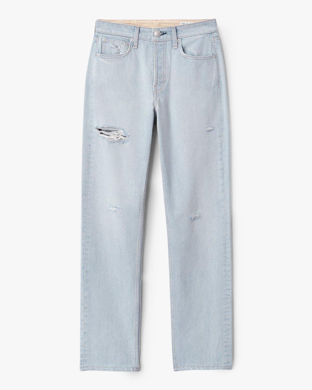 rag & bone Maya High-Rise Distressed Slim Jeans 0