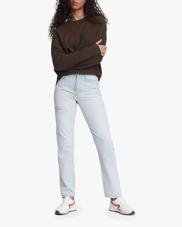 rag & bone Maya High-Rise Distressed Slim Jeans 2