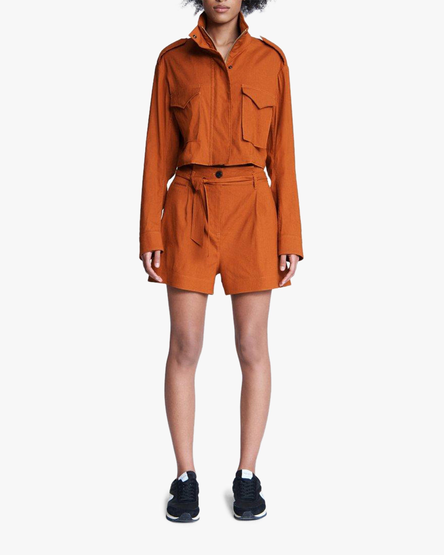 rag & bone River Linen Shorts 1